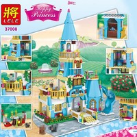561PCS New Model Building Blocks Princess Anna And The Prince Castle Compatible LegoINGLYS Technic Building Toys