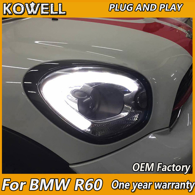 Kowell Car Styling Head Lamp For Mini Cooper Countryman Headlight