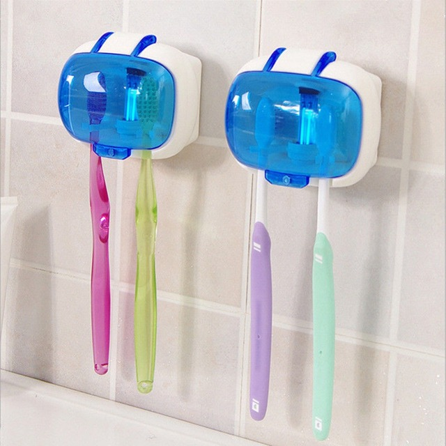 Toothbrush Sterilizer Wall Mounted Anti Bacteria Uv Lamp