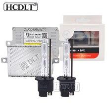 HCDLT Xenon H7 H1 H11 9005 9006 D2H преобразования HID комплект переменного тока 55 W ДЛТ F5T Балласт реактор и 35 W Yeaky ксеноновая лампа 4500 K 5500 K 6500 K