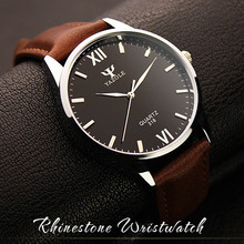 Roman Scale Quartz  Watch Man & Watch Women  Business Style  soft leather belt   Lover's  watches 100% high quality