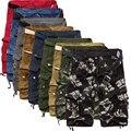 2017 Hot Sale Summer Cotton Cargo Mens Shorts Casual  Multi-pocket Fitness Men Beach Shorts 9 Colors 29-38
