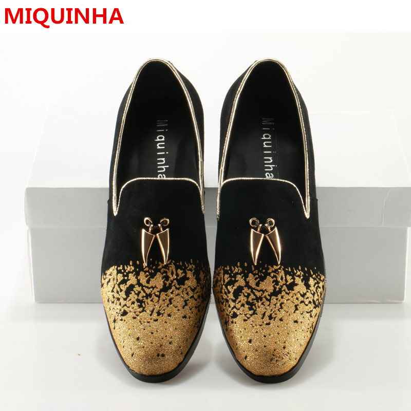 Plus Size 2017 New Man Round Toe Cozy Slip On Loafers Shallow Flock Flats Designer Men Business Casual Flats Top Quality Shoes new arrival luxury man casual shoes genuine leather cow comfortable loafers round toe designer brand men s business flats gd20