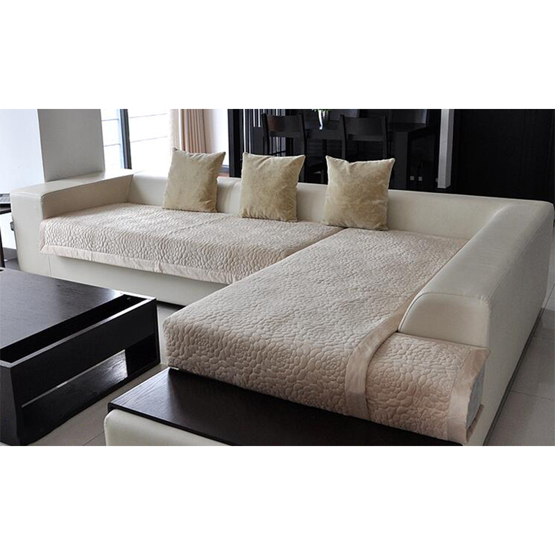 1Pcs Decorative Sofa Cover Sectional Modern Slipcover Tan/beige Suede  Fabric Towel Cover For The Sofa Simple Sofa Sets In Sofa Cover From Home U0026  Garden On ...