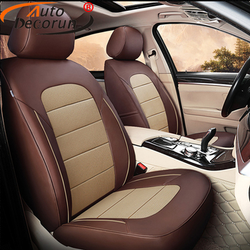 AutoDecorun Genuine Leather Seat Covers for Lexus RX350 RX330 RX450h RX270 RX200t RX400h RX350L RX300 Car Seat Cover Accessories