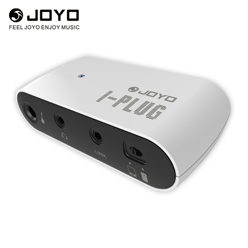 JOYO I-Plug Guitar Headphone For Pocket Amplifier Mini Amp With Built-in Overdrive Sound Effects For Windows Phone/Android/IOS joyo ja 01 2w mini amplifier direct guitar plug in with big sound great for practice