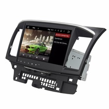 Quad Core 2 din 10.1″ Android 7.1 Car DVD Player for Mitsubishi Lancer 2006-2015 With 2GB RAM Radio GPS WIFI Bluetooth 16GB ROM
