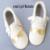 Bigote de cuero genuino zapatos de bebé girls primer caminante del bebé mocasines Moccs franja Niño regalo de Navidad de oro