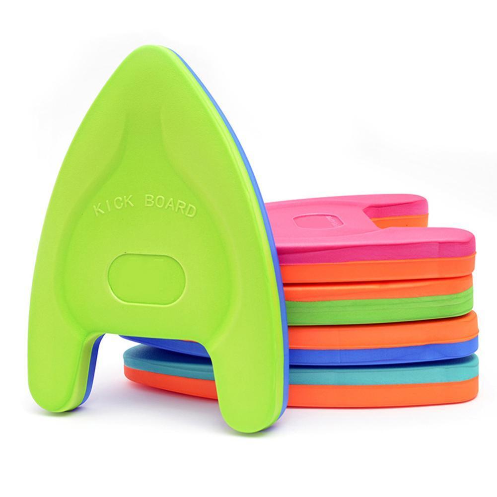Utility Swimming Learner Kickboard Floating Plate A shape Board Swimming Floating Plate EVA for Kids 5 Colors