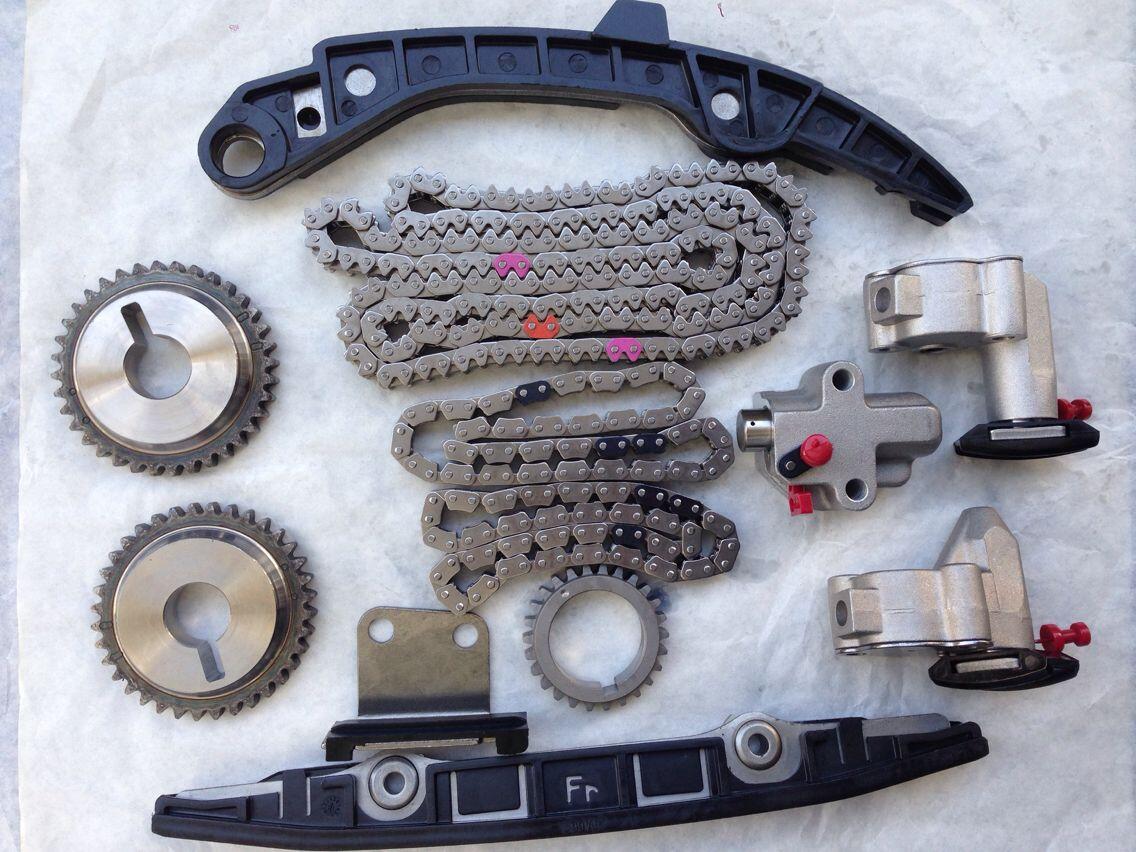 12 Pcs Set Full Timing Kit for Nissan Skyline Teana PJ31 VQ25DE