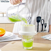 1Set Detachable Orange Lemon Squeezer Manual Fruit Juicer Kitchen Tool