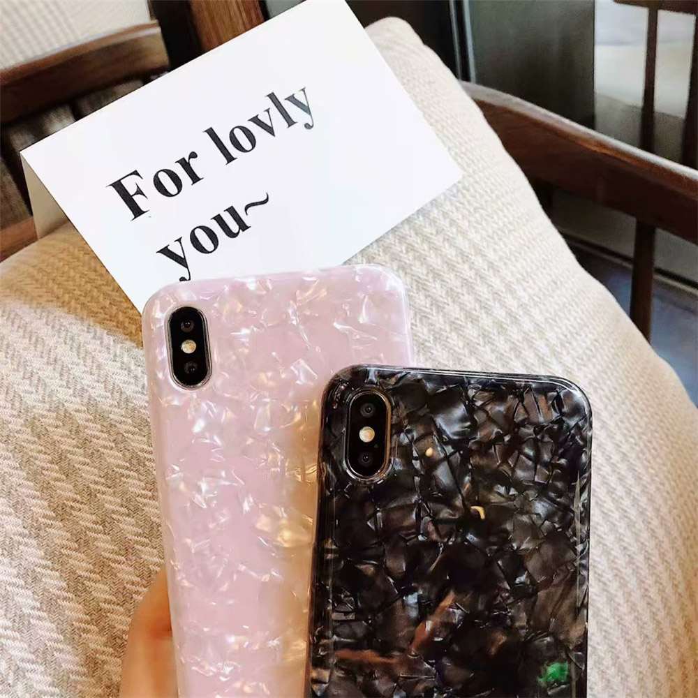 Glossy Glitter Case for iPhone SE (2020) 26