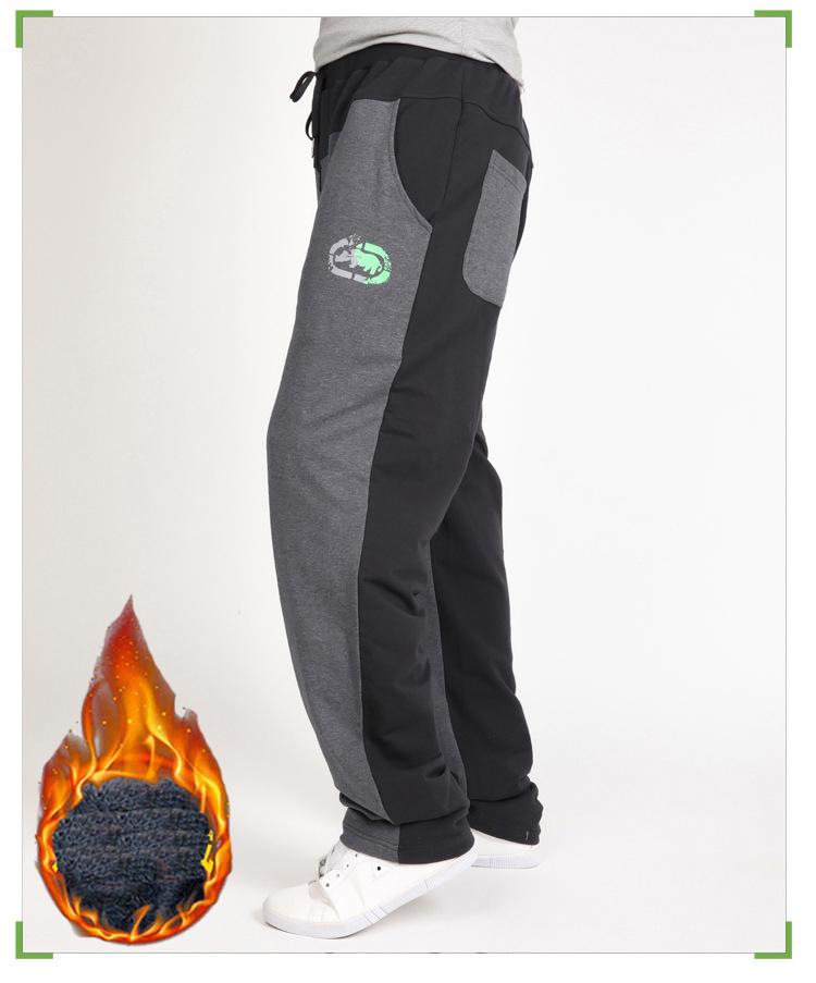 Warm winter pants men Joggers pants Hip Hop pants men clothes 18 Streetwear men's trousers large size XXXL 4XL 5XL 6XL 7XL 8XL 10
