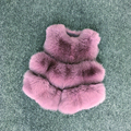 VR058-1 Women real fox fur vests genuine fox fur coat   winter new warm jacket .