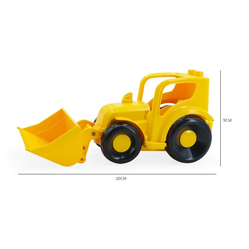 Big SIze Building Blocks Accessory City Bus Truck Aircraft Transport Fire Truck Brick Model Compatible Duploe Toys for children (28)