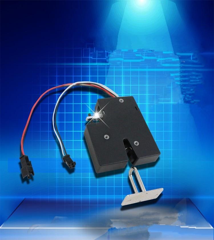 5pcs 24V 12V 5v 9v Invisible Door Lock RFID Electronic Smart Cabinet Locker Door Lock Wardrobe Drawer Lock For Smart Control