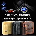 12V 10W Car logo Light Emblem Laser Door Bulb Auto Ghost Shadow Lamp Rio Ceed Sportage Soul Cerato K2 k3 k5 Sorento Venga