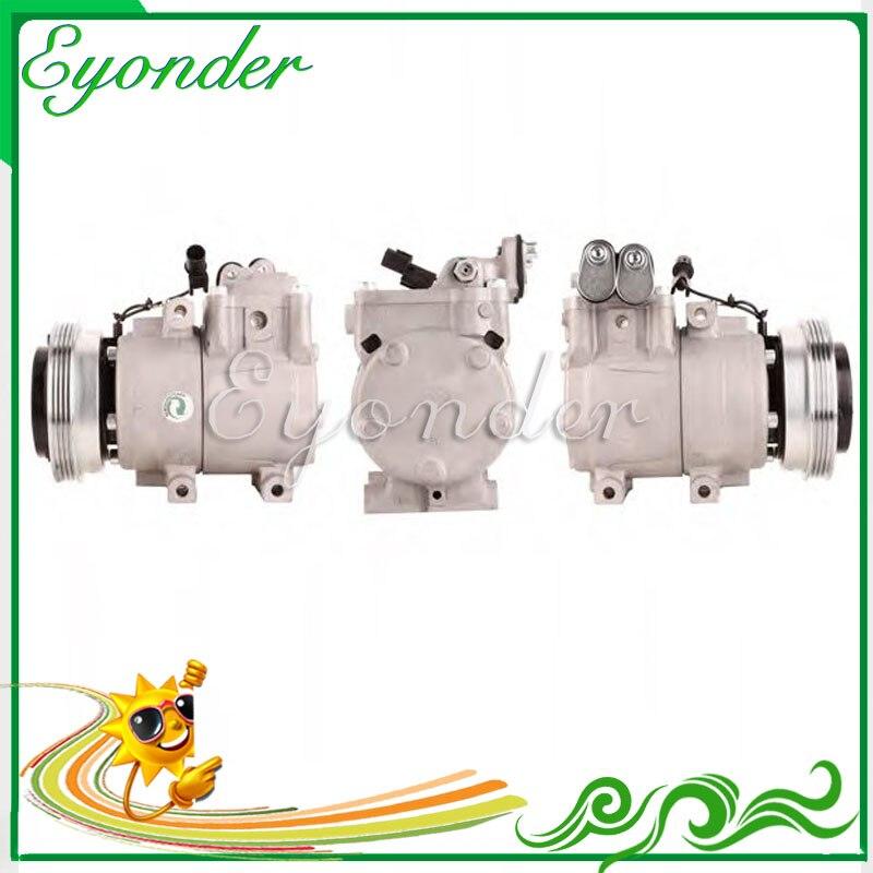 A/C AC compresseur de climatisation pompe de refroidissement pour Hyundai Lantra II J-2 Elantra XD 1.8 2.0 97701-2C100 97701-09000 97701-2D100