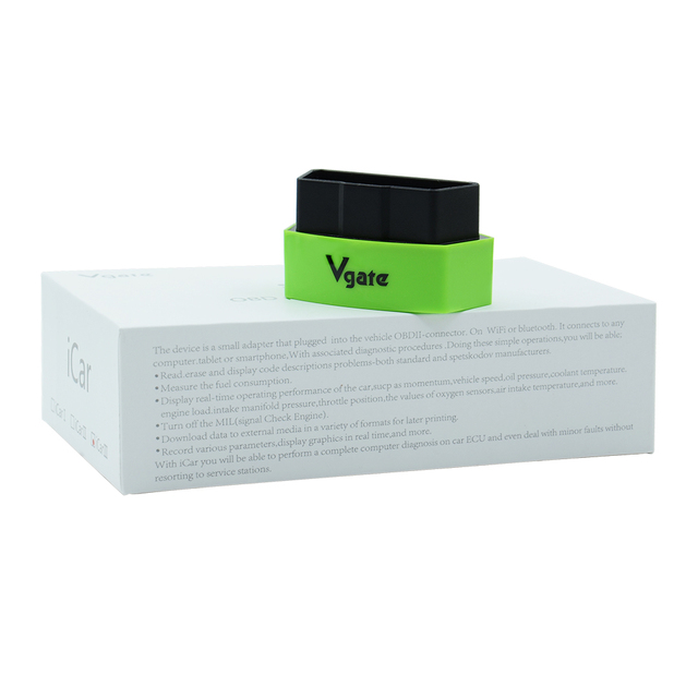 Vgate iCar3 OBD professional solution Bluetooth Function ELM327 OBD2 Code Reader iCar3 for Android/ IOS/PC