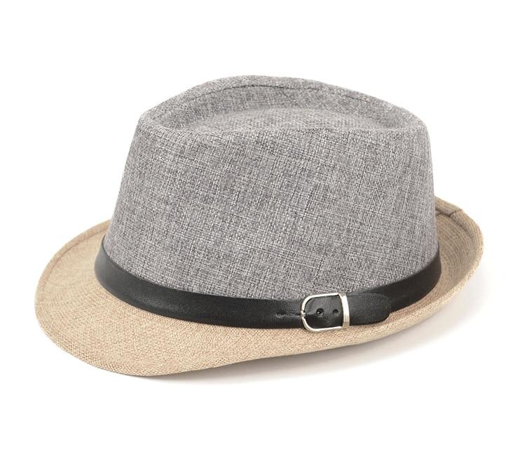2f3084c57 Details about Men's Jazz Hat Panama Cap Ladylike Elegant Fedoras Hats Women  Fashion Summer NEW