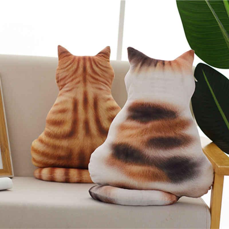 Popular 2019 nuevo Kawaii Back Shadow Cat juguetes de peluche 6 estilos asiento de gato sofá almohada cojín regalos de cumpleaños para niños niñas