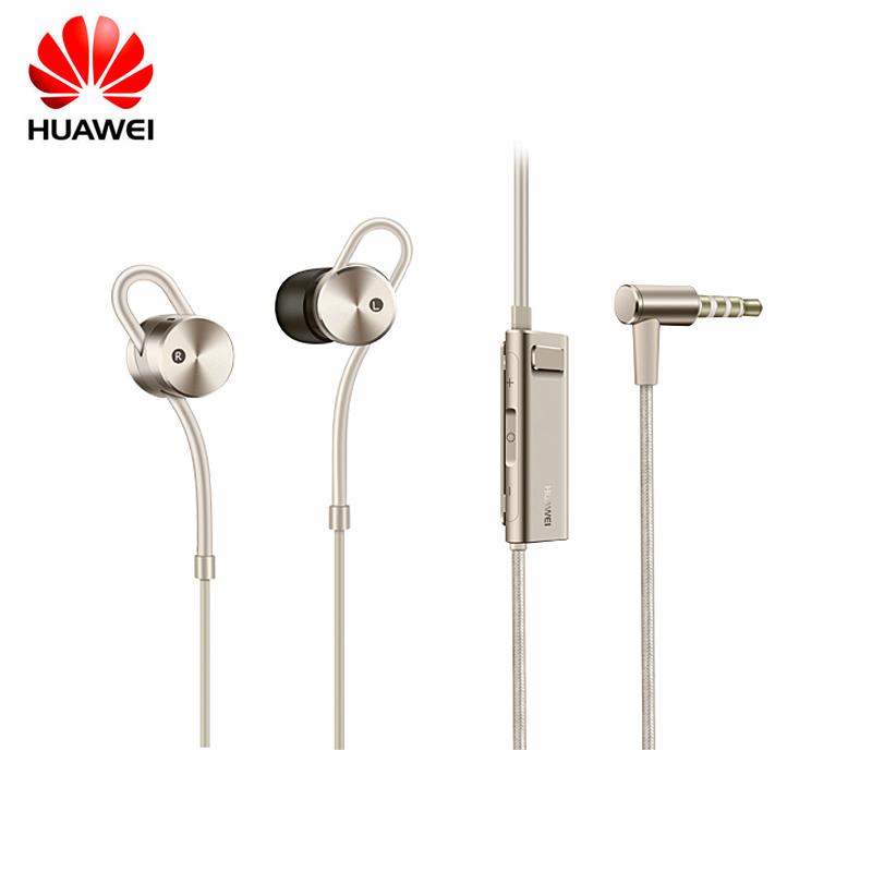 Prix pour 100% D'origine Huawei AM185 in-ear Casques active noise Cancelling Écouteur avec Télécommande et Microphone