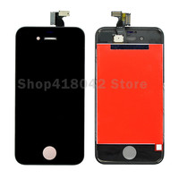 AAA For IPhone 4S 4 LCD Display Touch Screen Digitizer Assembly Replacement Parts Black White LCD
