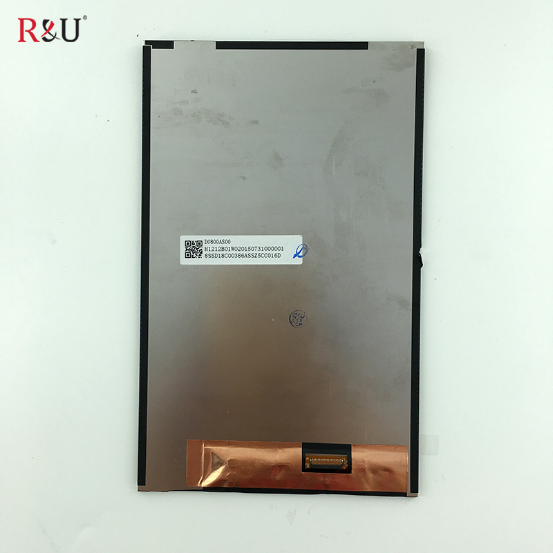 R&U high quality 8 inch LCD Display Screen Module Panel inner screen Internal Repartment Parts for Lenovo Tab 2 A8-50LC A8-50F new 8 inch for lenovo tab 2 a8 50f tab2 a8 50lc a8 50 tablet pc touch screen lcd display assembly parts case free shipping