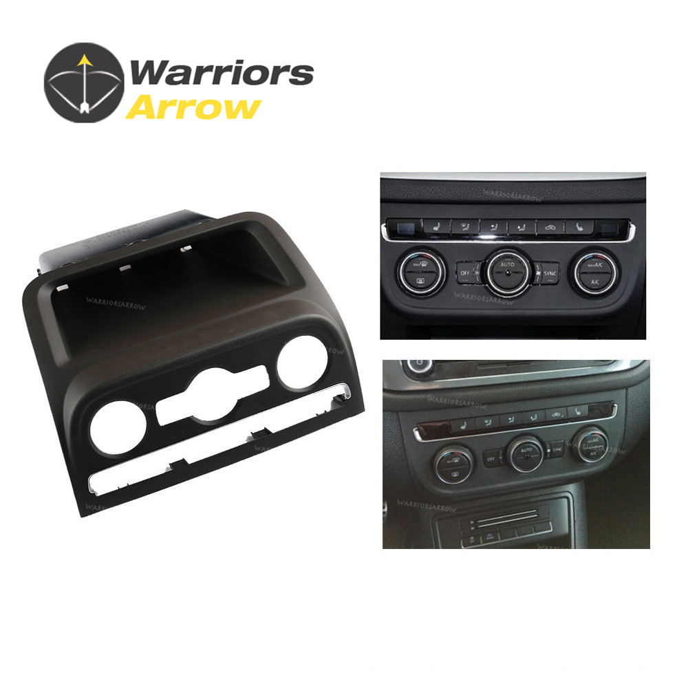 5M0819422B 5ND820039 For Volkswagen VW Tiguan 2010 2014 2015 Black Front Dashboard Seat Climate Control Panel