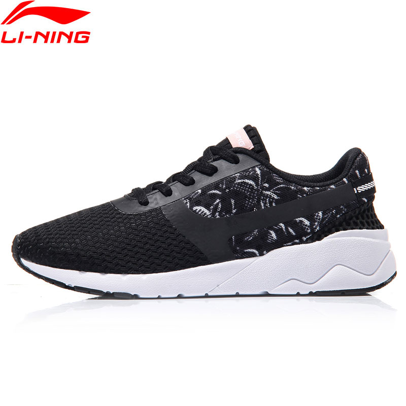 Li-Ning Heather Women Walking Shoes Breathable Sports Life Leisure Light LiNing Sports Shoes Sneakers AGCM054 YXB042