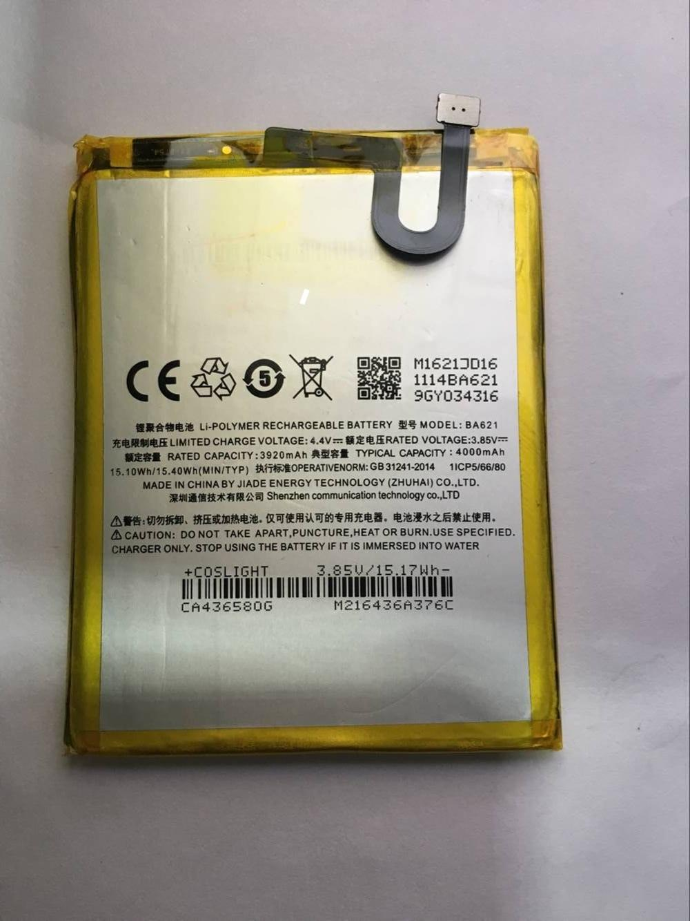 New Replacement Battery <font><b>BA621</b></font> For <font><b>MEIZU</b></font> Note 5 Li-ion Polymer Powerful Batteries 3100mAh image