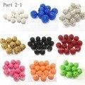 Großhandel Teil 2-1, 12mm-14mm-16mm-18mm-20mm-22mm Chunky Harz Strass Ball Perlen Für Mode Schmuck/Hand Made DIY