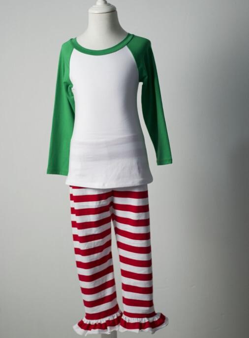 Latest High Quality Knitting Cotton pyjamas raglan sleeve