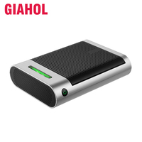 Mini Car Air Purifier with True HEPA Filter Car Air Freshener Remove Dust Pollen Smoke and Bad Odors Ionic Air Purifier Car Home