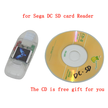 50 pcs High quality for Sega DC SD card Reader  DC Reader for Dreamcast game