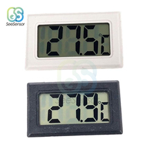 Embedded LCD Digital Thermometer for Freezer Temperature Meter Sensor -50~110 Degree Refrigerator Fridge Thermometer недорого