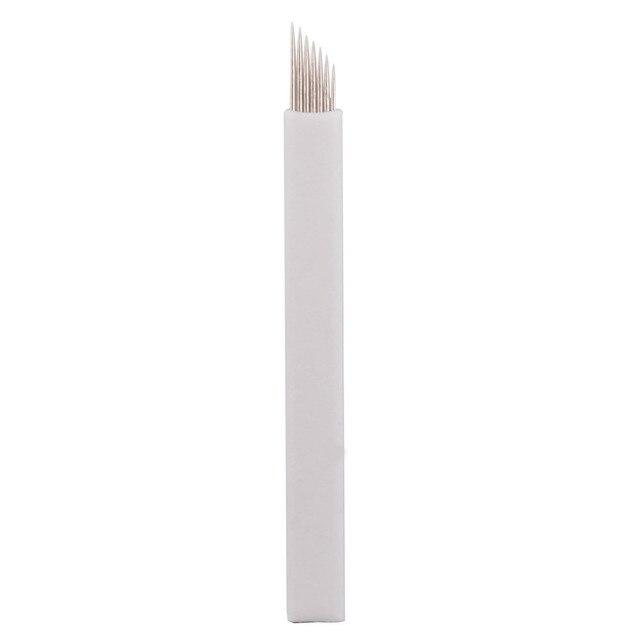 Whole sale IPM   eyebrow tattooing needle plate blade 7 needles 120pcs +1 eyebrow manual pen