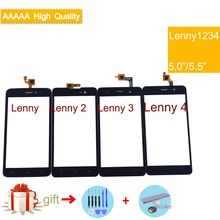 For Wiko Lenny 1 Lenny 2  Lenny 3 Lenny 4 Touch Screen Panel Sensor Digitizer Front Outer Glass Touchscreen Lenny2 Lenny3 Lenny4 цена и фото