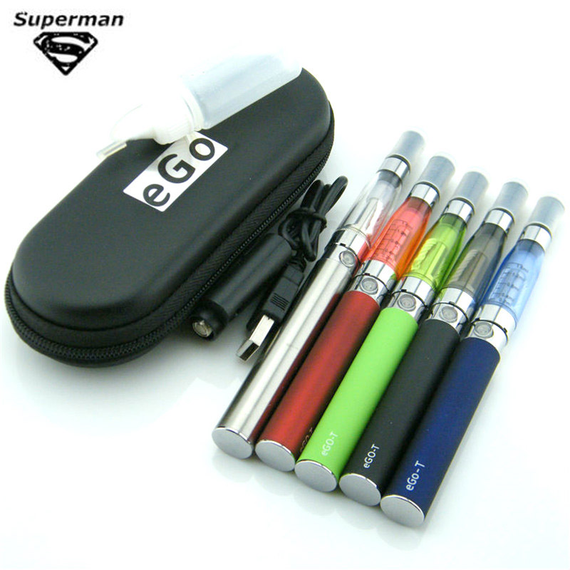 SUB TWO EGO CE4 Kits 1.6ml Vape Atomizer 650mah-1100mah 510 Evod Ego Battery Vape Kit Vaporizer Electronic Cigaret Vaper Pen
