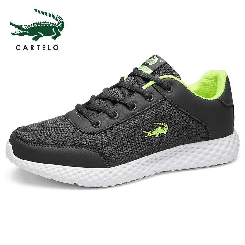 CARTELO Brand Men Fashion Shoes Casual Men Shoes Men Sneakers Black Breathable Shoes 2019 Male Sneakers Zapatillas Hombre