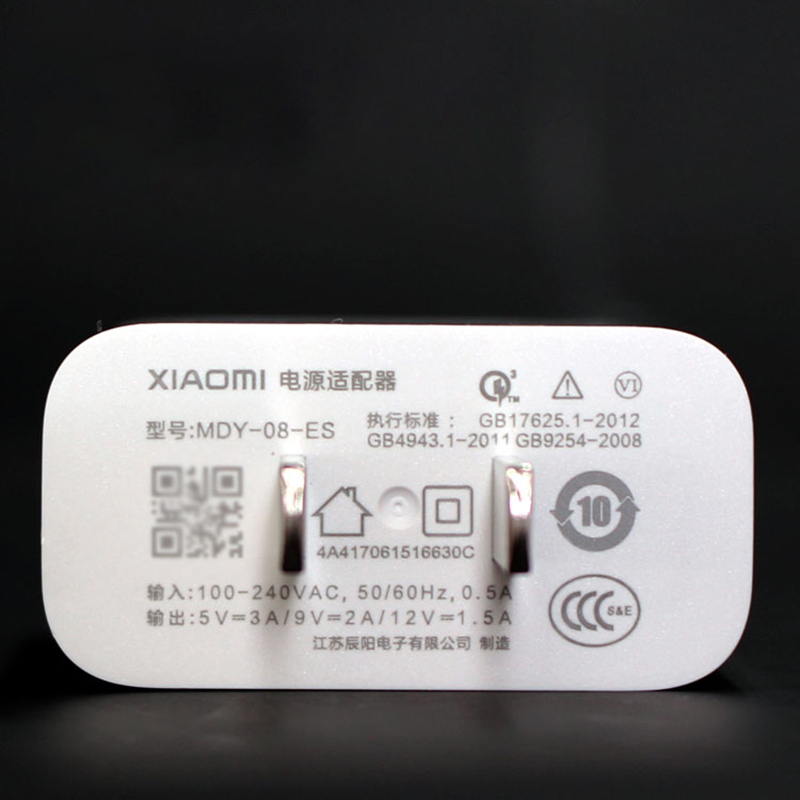 Image 5 - Original XIAOMI USB Fast Charger 12V/1.5A QC3.0 Travel Adapter 100CM TYPE C Cable For Mi F1 A1 A2 Lite 5 6 8 9 SE Redmi K20 Pro-in Mobile Phone Chargers from Cellphones & Telecommunications