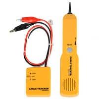 Rastreador diagnosticar tone finder telefone fio cabo tester toner tracer inder detector ferramentas de rede