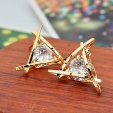 gold earrings for women Fashion Stud Earrings  WHOLESALE price crystal