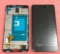 ЖК-экран + Сенсорный дигитайзер с полыми рамка Для Huawei Honor 7 белый/черный/золотой бесплатная доставка