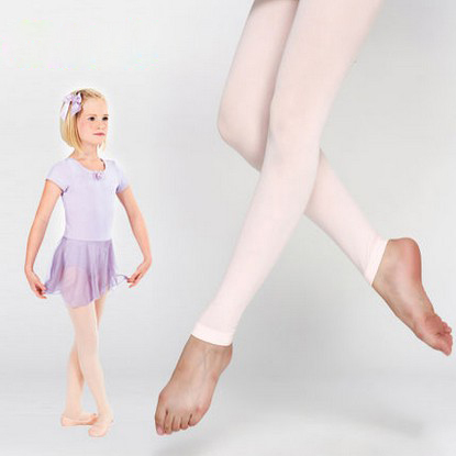 d52f41a45e5 Girls Footless Dance Tights With Waist And Crotch For Children Pink Black  Tan Kids Ballet Fitness Dancing Tights Free Shipping on Aliexpress.com