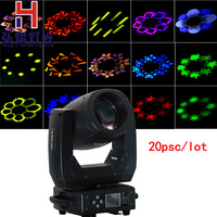 20Pcs 150W LED beam Moving Head Light With Gobos High Brightness DMX512 8 facet prism lens13 Channels Professional Stage Light