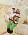 57 cm cuerda de escalada colgar muñecos de peluche Muñeco de Nieve de Papá Noel Ciervos de Navidad decoración de Interior al aire libre