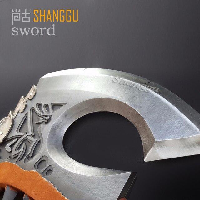 World of Warcraf Grom Hellscream Gorehowl Tribal warriors Warsong Clan Roar of blood Tomahawk Sword 2