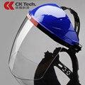 Diseñador de la Marca de Seguridad de Protección Mascarilla Anti Splash CK Tech lab negro de humo de Cocina Máscaras de Seguridad Airsoft Casco De Soldadura 3117