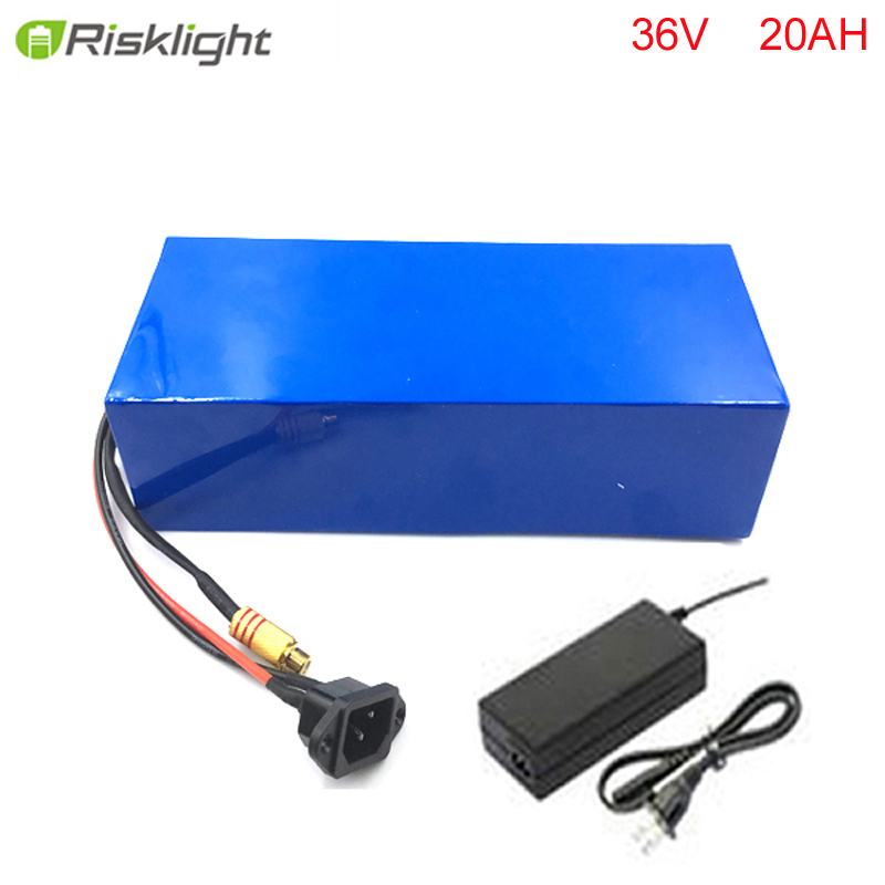 36v lithium battery 20ah / 36v electric bike lithium battery / 36V 20AH 1000W Electric Bicycle Battery with PVC case ,30A BMS liitokala 36v 6ah 500w 18650 lithium battery 36v 8ah electric bike battery with pvc case for electric bicycle 42v 2a charger